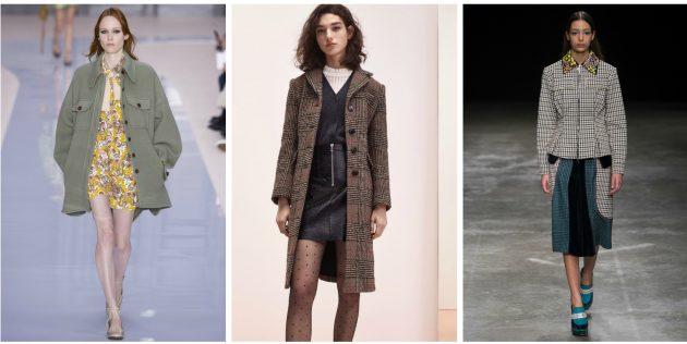 Мода осени-зимы 2017/2018: Парижская богема на работе