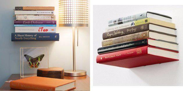 Невидимая полка для книг