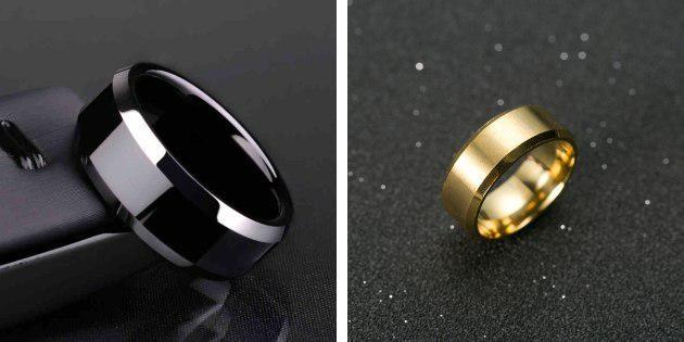 Титановое кольцо