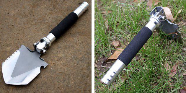 Многофункциональная лопата