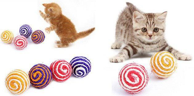 Мячик для кота