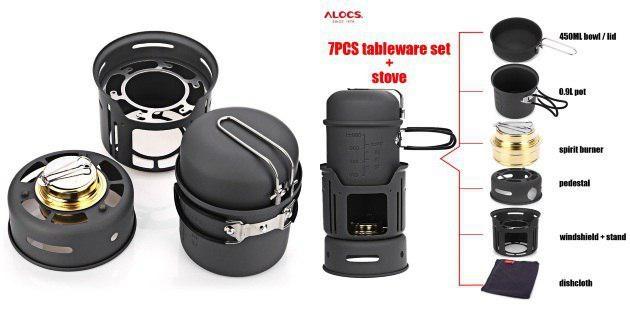 AliExpress для мужика: шлем, камуфляжные штаны и набор для похода