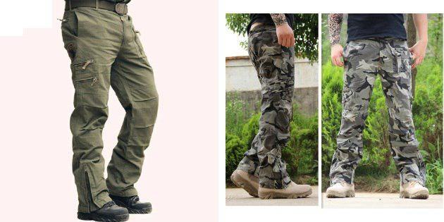 Камуфляжные штаны