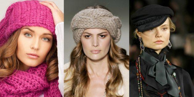 как подобрать шапку: прямоугольное лицо