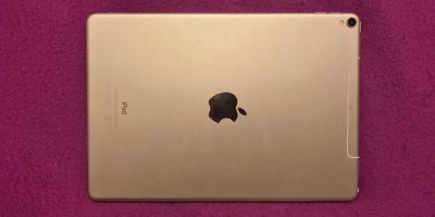 iPad Pro 10,5″: задняя панель