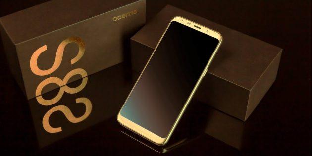 Bluboo S8 gadget