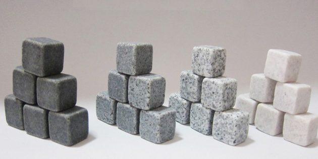 оригинальные подарки на Новый год: Камни для охлаждения напитков