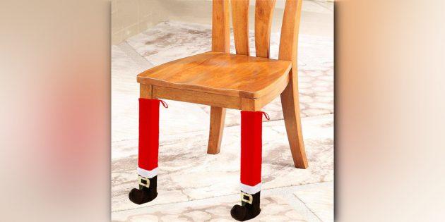 Чехлы на ножки стола и стульев