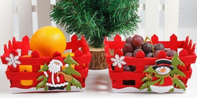 Корзинка для овощей или фруктов