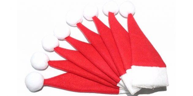 Шапочки-карманы для столовых приборов