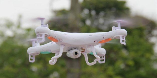 Что подарить другу на Новый год: Квадрокоптер