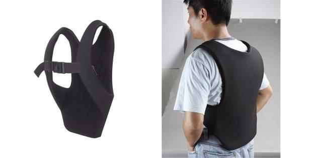 Скрытый рюкзак для ноутбука