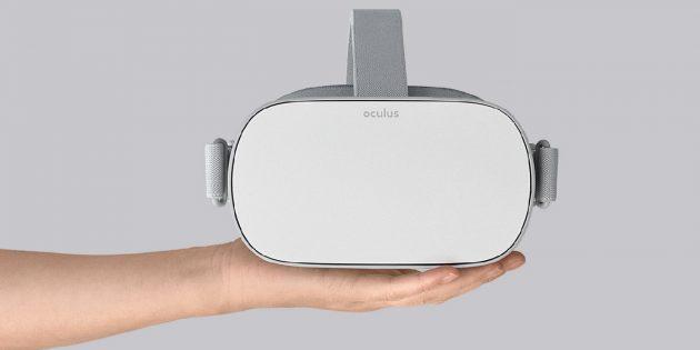 Представлен шлем виртуальной реальности Oculus Go за 199 долларов