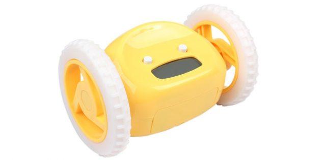 Будильник на колёсах