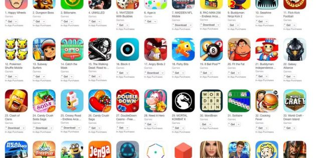 App Store в iTunes