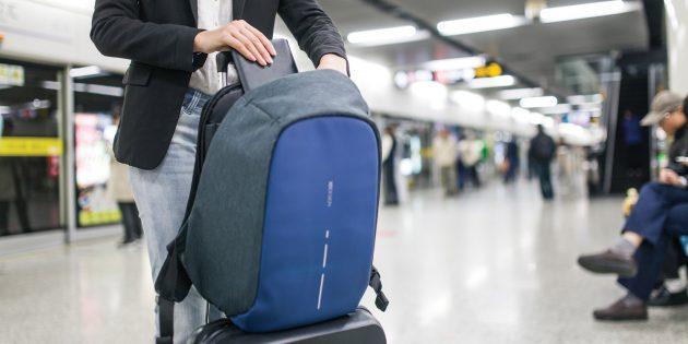 Bobby Compact: резинка для крепления к чемодану