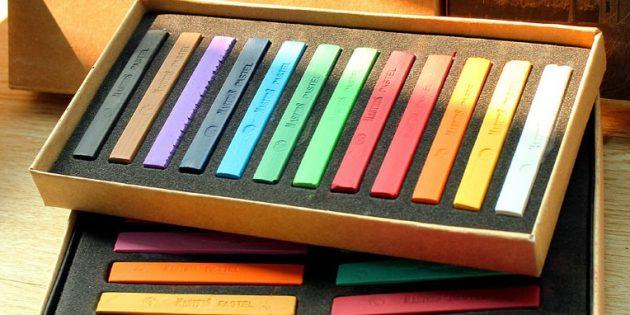 Что подарить другу на Новый год: Пастельные карандаши