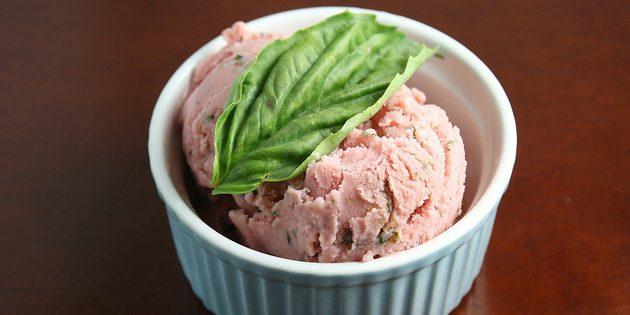 виды мороженого: замороженный йогурт