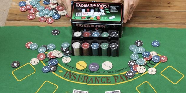 Подарки любимому на Новый год: Набор для покера