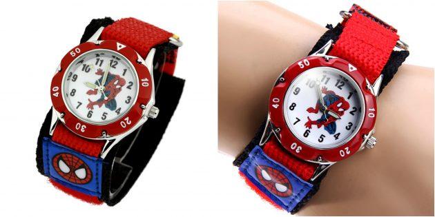 детские часы: супергеройские часы