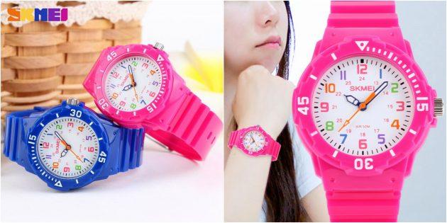детские часы: водонепроницаемые часы с компасом
