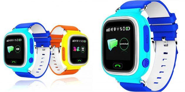 детские часы: умные GPS-часы