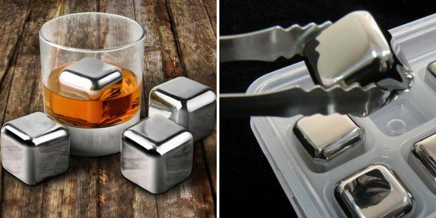 Что подарить папе на Новый год: Кубики для виски