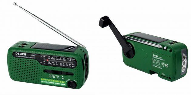 Что подарить папе на Новый год: Походное радио