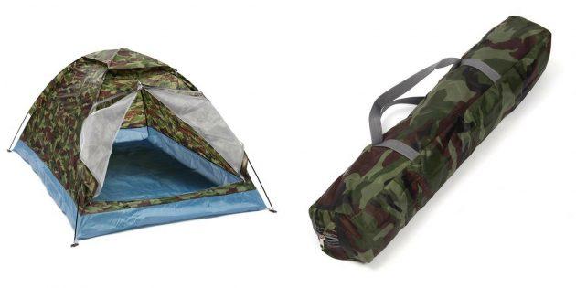 Что подарить папе на Новый год: Палатка