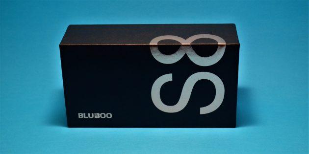 Bluboo S8 box