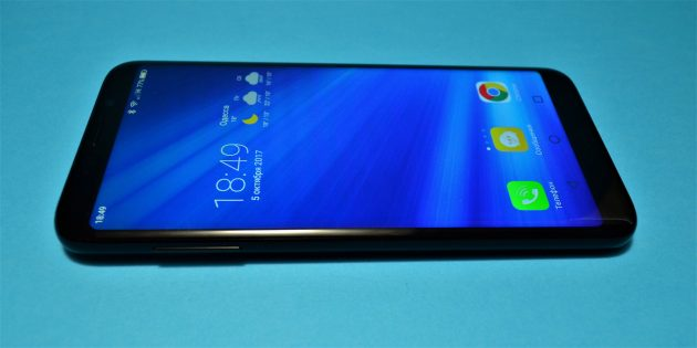 Bluboo S8 screen 2