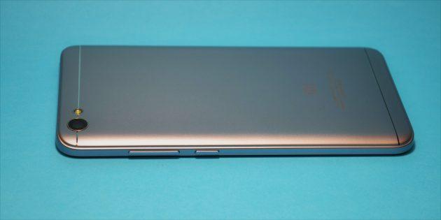 Xiaomi Redmi Note 5a: задняя крышка