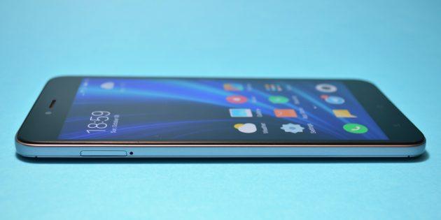 Xiaomi Redmi Note 5a: дисплей