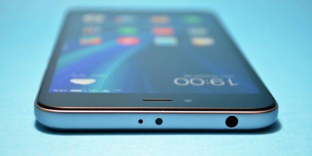 Xiaomi Redmi Note 5a: разъёмы