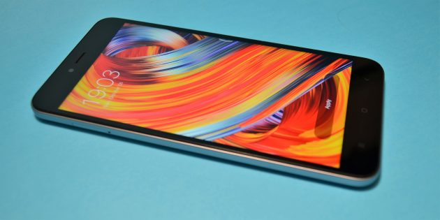 Xiaomi Redmi Note 5a: качество экрана