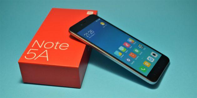 Обзор Xiaomi Redmi Note 5a