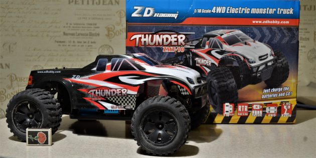 ZD Racing Thunder. Машина и упаковка