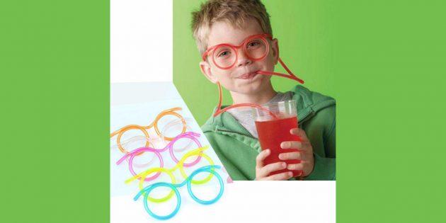 Что подарить ребёнку: трубочка для напитков
