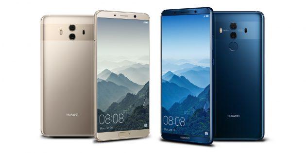 Huawei Mate 10 смартфон месяца