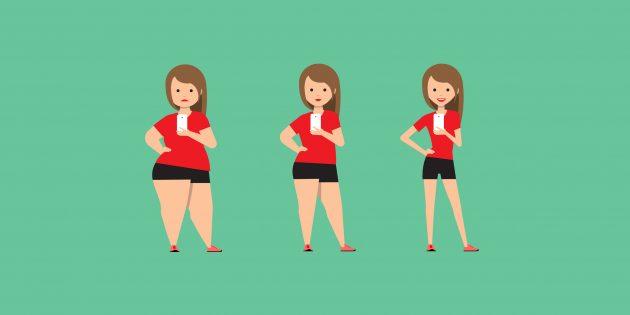Как быстро похудеть и не навредить здоровью: научный подход