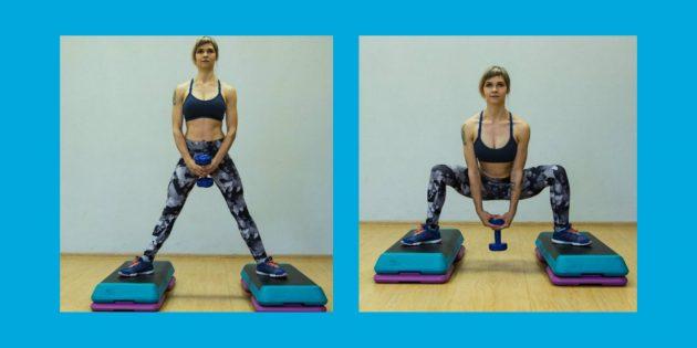Как лучше нагрузить нужные мышцы в приседании и жиме ногами