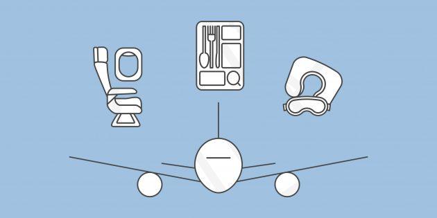 Как не навредить здоровью во время авиаперелёта
