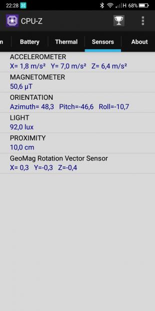 Bluboo S8 cpu 3