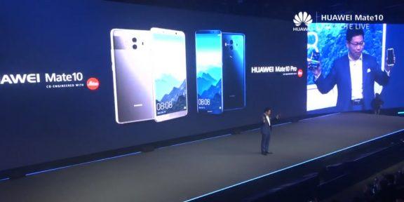 Huawei представила «интеллектуальный» смартфон Mate 10