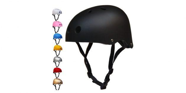 Велосипедный защитный шлем