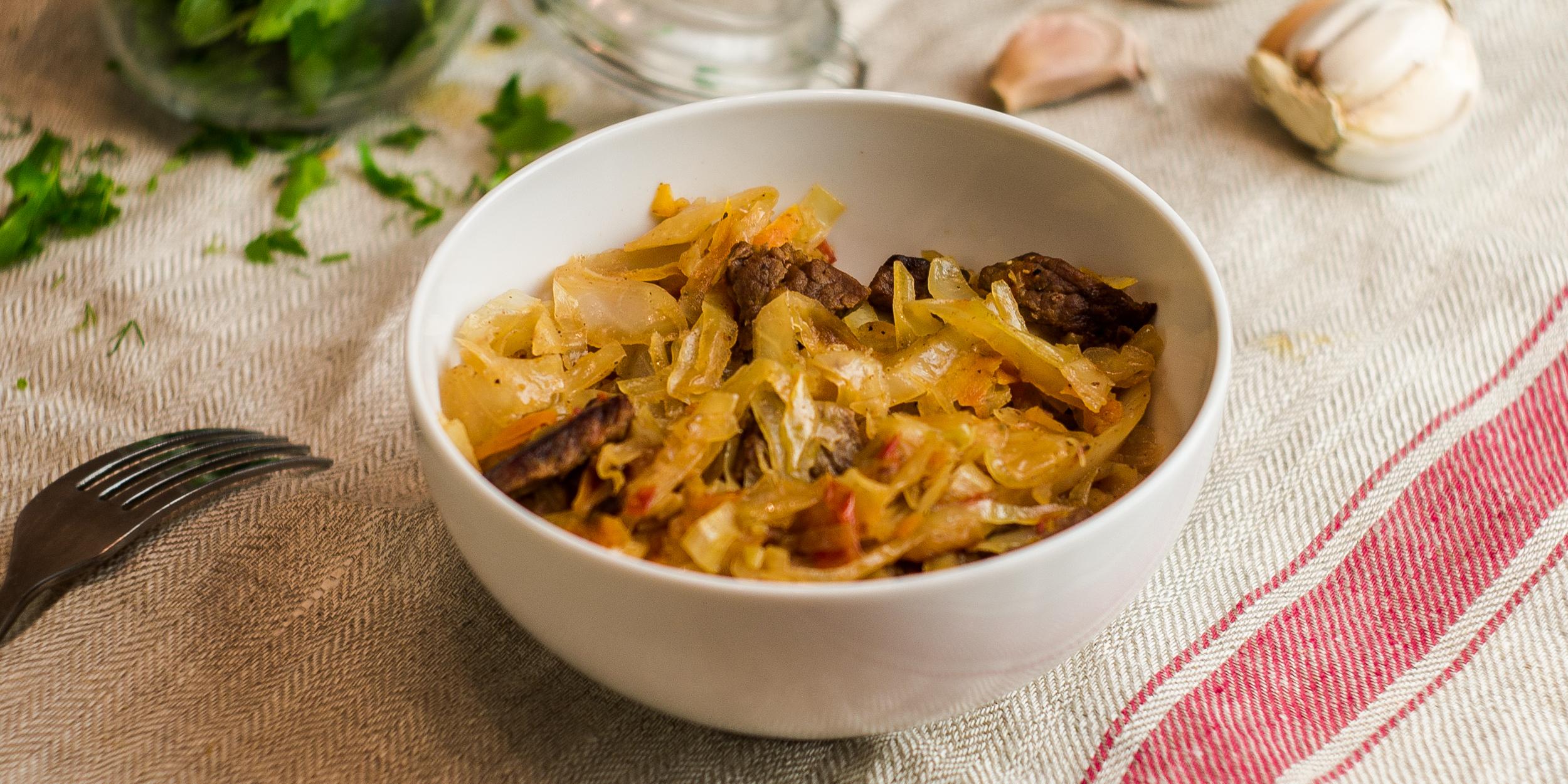 Как потушить капусту в духовке Кулинарные рецепты