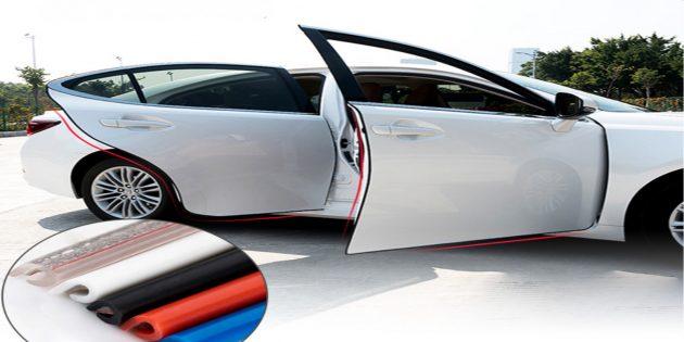 Защитная полоса для дверей автомобиля скидка