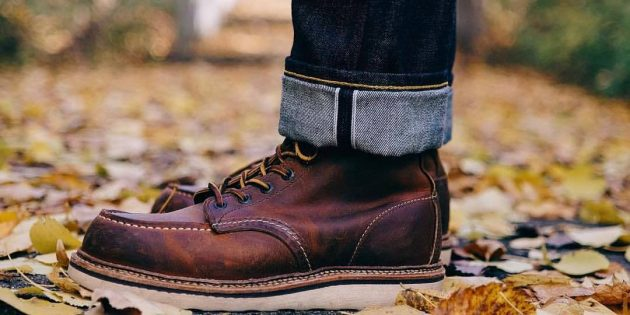 Как делать двойной отворот на селвидж-джинсах