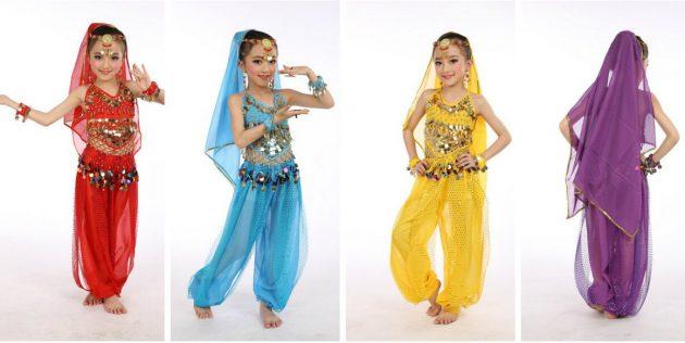 Костюм восточной танцовщицы