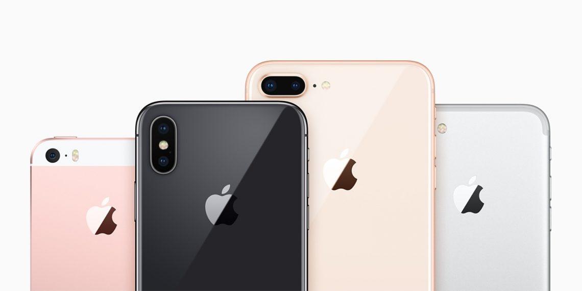 Сравнение iPhone: Габариты и вес